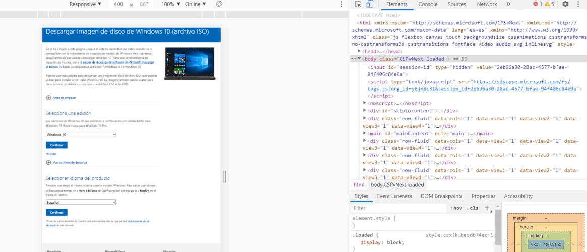 Descargar Windows 10 de forma oficial