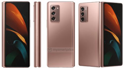 Así sera el diseño del Galaxy Z Fold 2, renders filtrados