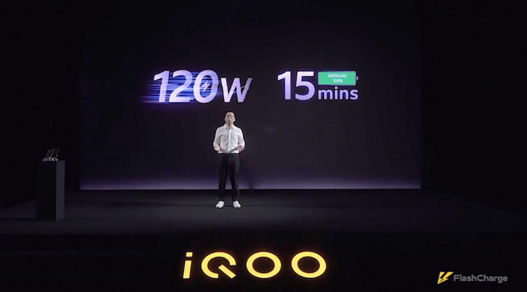 Presentación de la carga rápida 120W, iQOO y Vivo