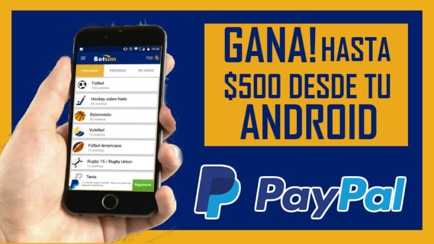 betsim-ganar dinero extra en Android