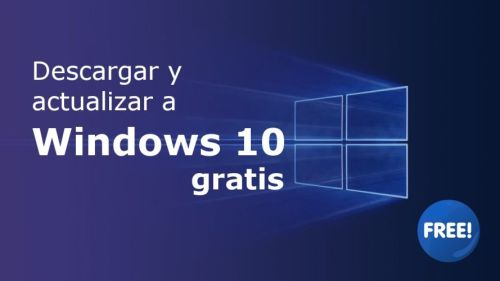 Como descargar Windows 10 de forma oficial