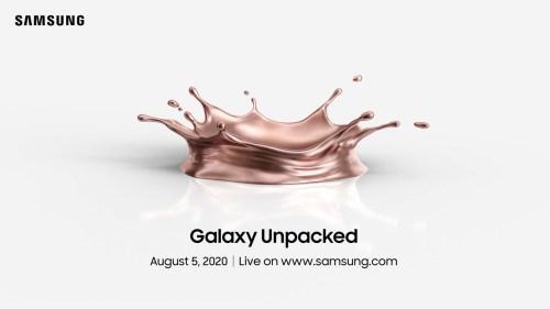 ¡Confirmado! Fecha oficial para la presentación de los Galaxy Note 20