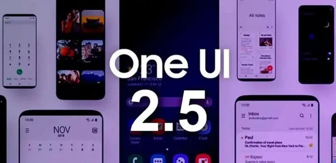 Características de OneUI 2.5 para móviles Samsung, actualización