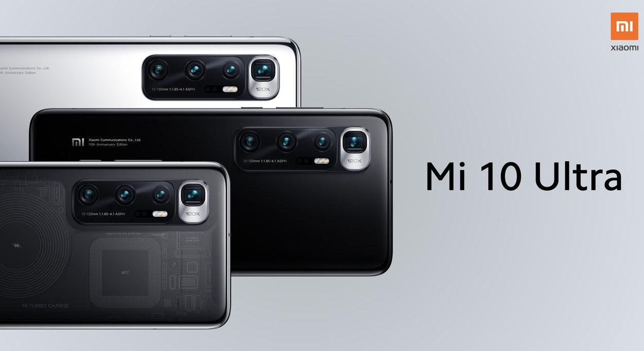 Xiaomi Mi 10 Ultra características y precios