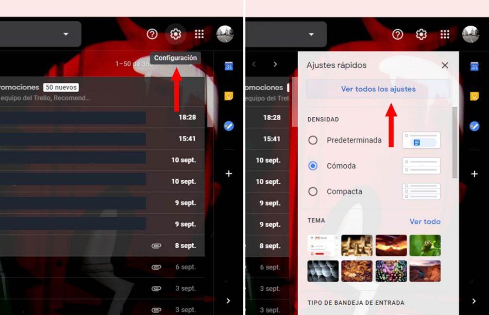 Cómo desactivar la redacción inteligente en Gmail, pasos a seguir