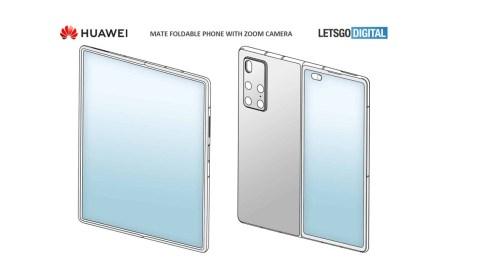 Patente de Huawei muestra un plegable al puro estilo de Samsung