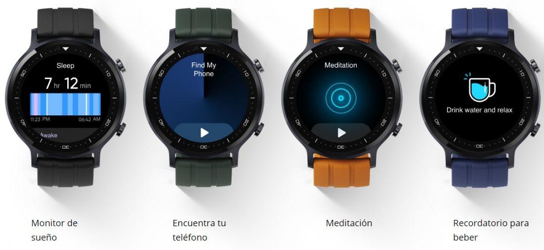 Características del Realme Watch S especificaciones