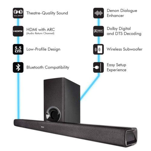Denon DHT S316-barra de sonido dolby atmos