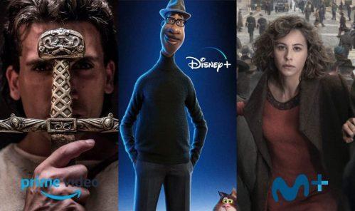 Nuevas series y películas en diciembre 2020: Prime Video, Disney+ y Movistar+