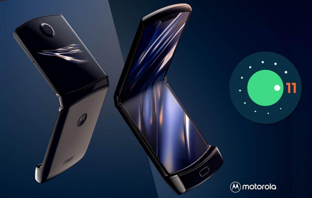 Móviles de Motorola con Android 11 actualización