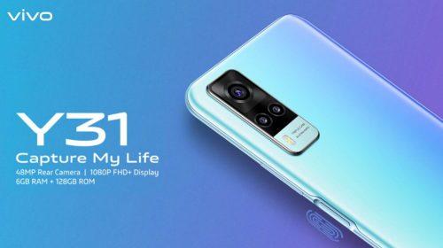Nuevo Vivo Y31 2021: Un móvil económico con gran batería y carga inversa