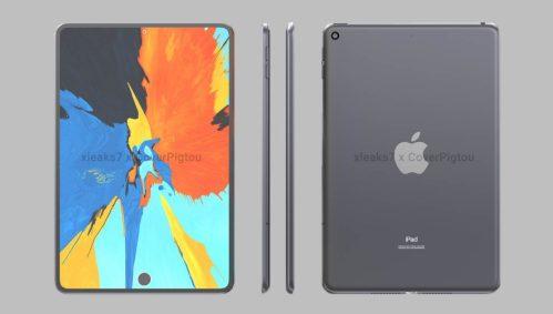 Diseño del iPad Mini 6 filtrado: ¡Sensor de huellas bajo un panel perforado!