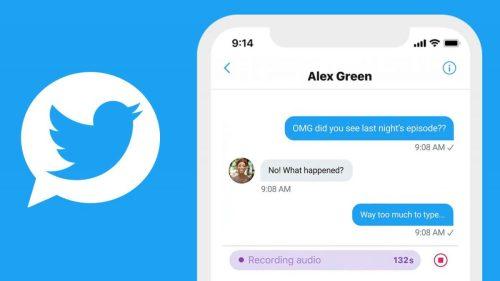 Las notas de voz en Twitter comienzan a estar disponibles por DM