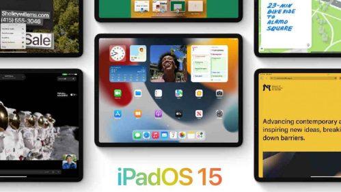 Las nuevas características de iPadOS 15 ofrecen widgets principales y mejor multitarea