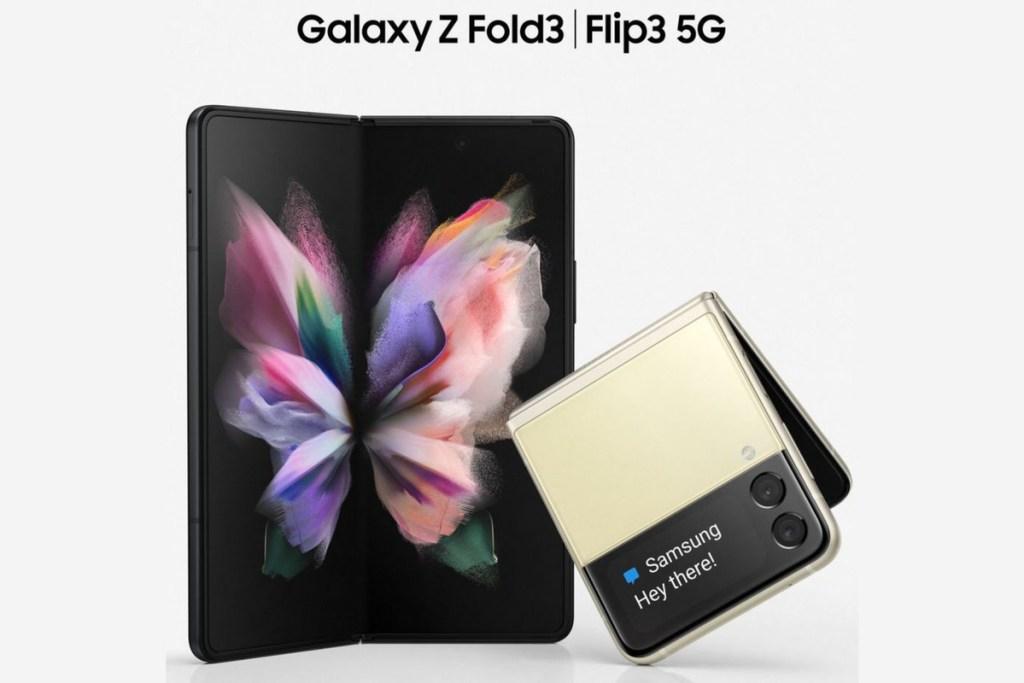 Galaxy Fold 3 y Flip 3