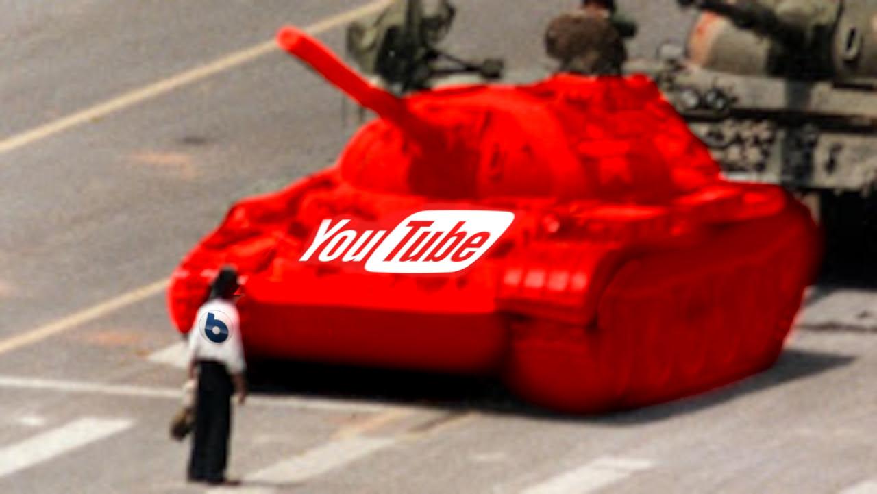 YouTube, un Tiranno che Sopprime le Voci Scomode. Silenziato Byoblu.
