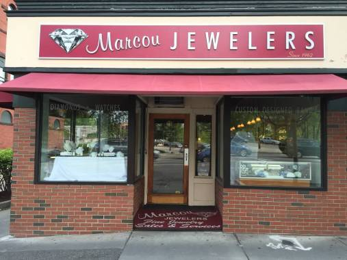 Marcou Jewelers Watertown Storefront