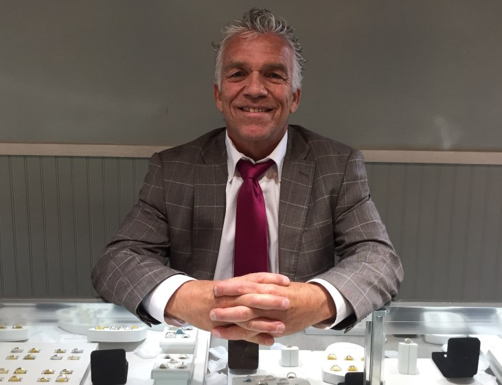 Marcou Jewelers - Kenny at Counter