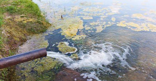 L' inquinamento dei fiumi