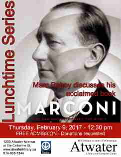 AtwaterLibrary_LunchtimeSeries_Marconi_9Feb2017