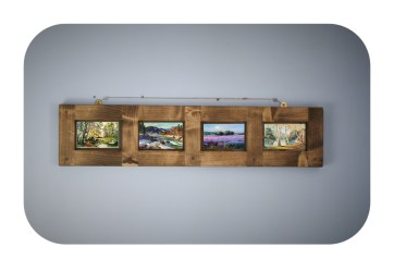 Designed by Marc Wood in Somerset UK and handmade by Marc and our talented small team, our furniture, mirrors and picture frames in reclaimed wood can be made to any size.