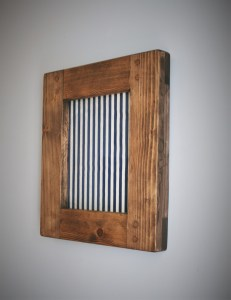 Custom handmade picture, photo, art frames in eco reclaimed wood. Handcrafted by Marc Wood Joinery in Somerset UK.