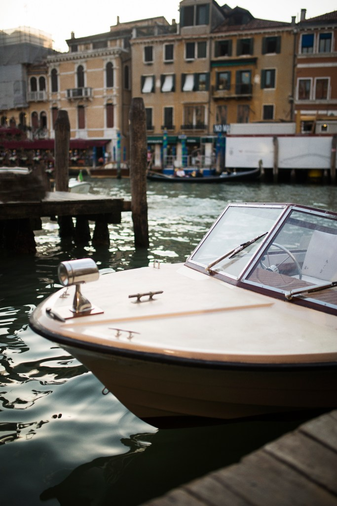 Grand Canal Boat, Venice, Italy -- Marcucci Photography