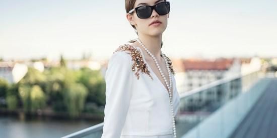 Fitting Irene Luft Fashion Week 19
