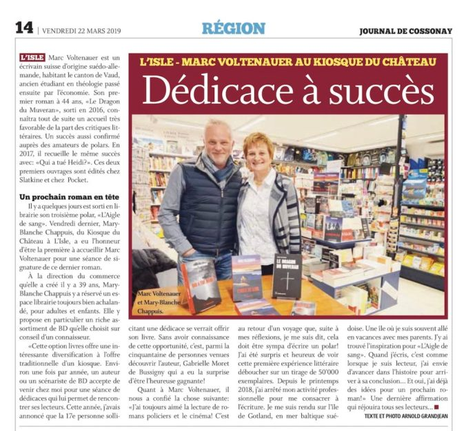 Journal de Cossonay