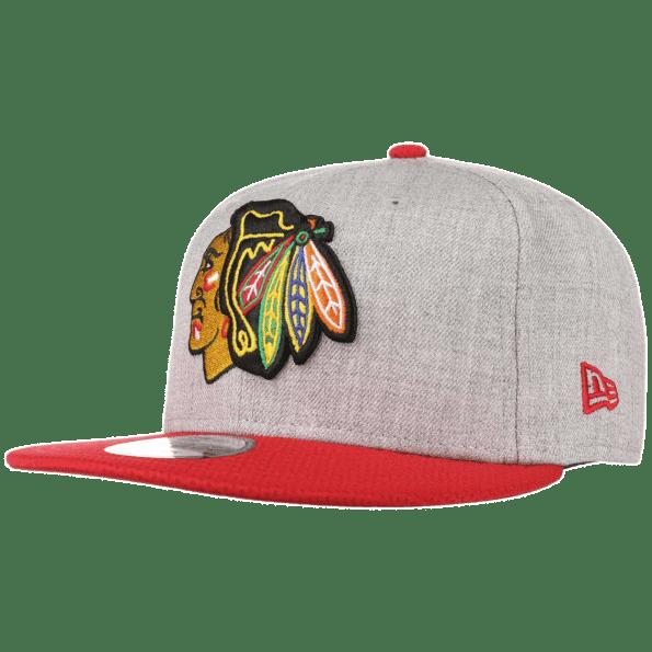 9Fifty chicago Blackhawks sapka New Era szurke piros