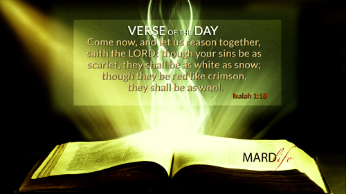 Verse Of The Day: Isaiah 1:16-20