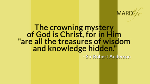 Crowning Mystery, Crown, Crowning, Mystery, God, Christ, Treasure, Wisdom, Knowledge, Hidden,