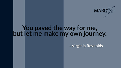 Pave, Way, Make, Journey, Virginia Reynolds, Family, Friends, Influence,