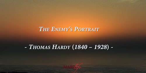Enemy, Portrait, Enemy Portrait, Thomas Hardy, Poetry, Poem, Foe, Rivals, Picture, Drawing, Painting,