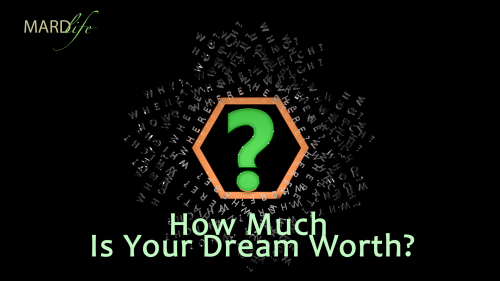 Rhethorics: How Much Is Your Dream Worth?