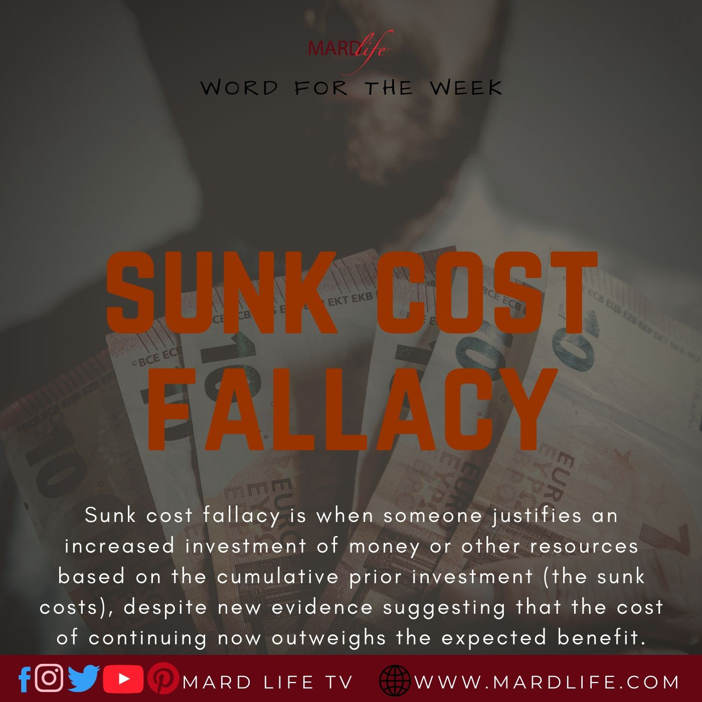 Sunk Cost Fallacy, Sunk Cost, Cost, Waste, Failure, Business, Relationship, Investment, Error, Mistake,