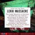 Lekki Massacre, Killing, End SARS, Protest, Soro Soke, Lagos, Army, Shooting, Sanwo Olu, History, Politics,