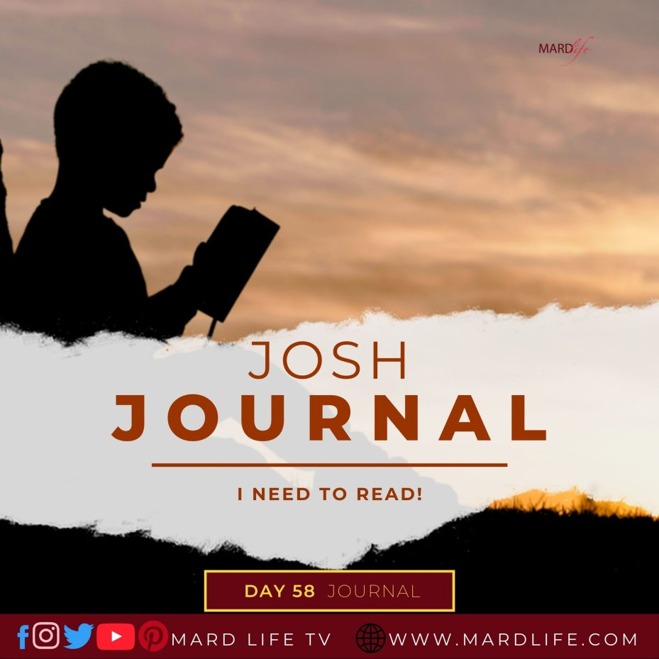 I Need To Read – Josh Journal
