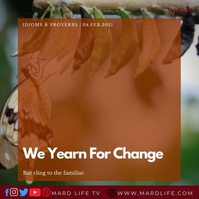 We Yearn For Change