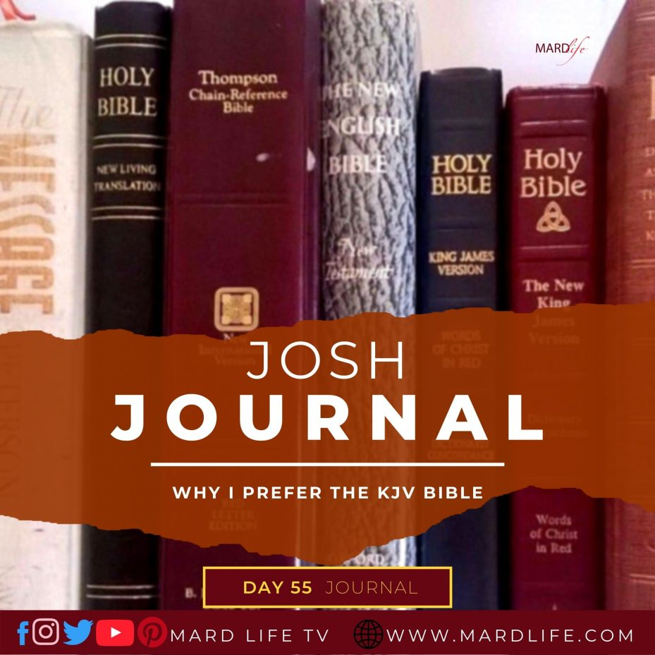 Why I Prefer The KJV Bible – Josh journal