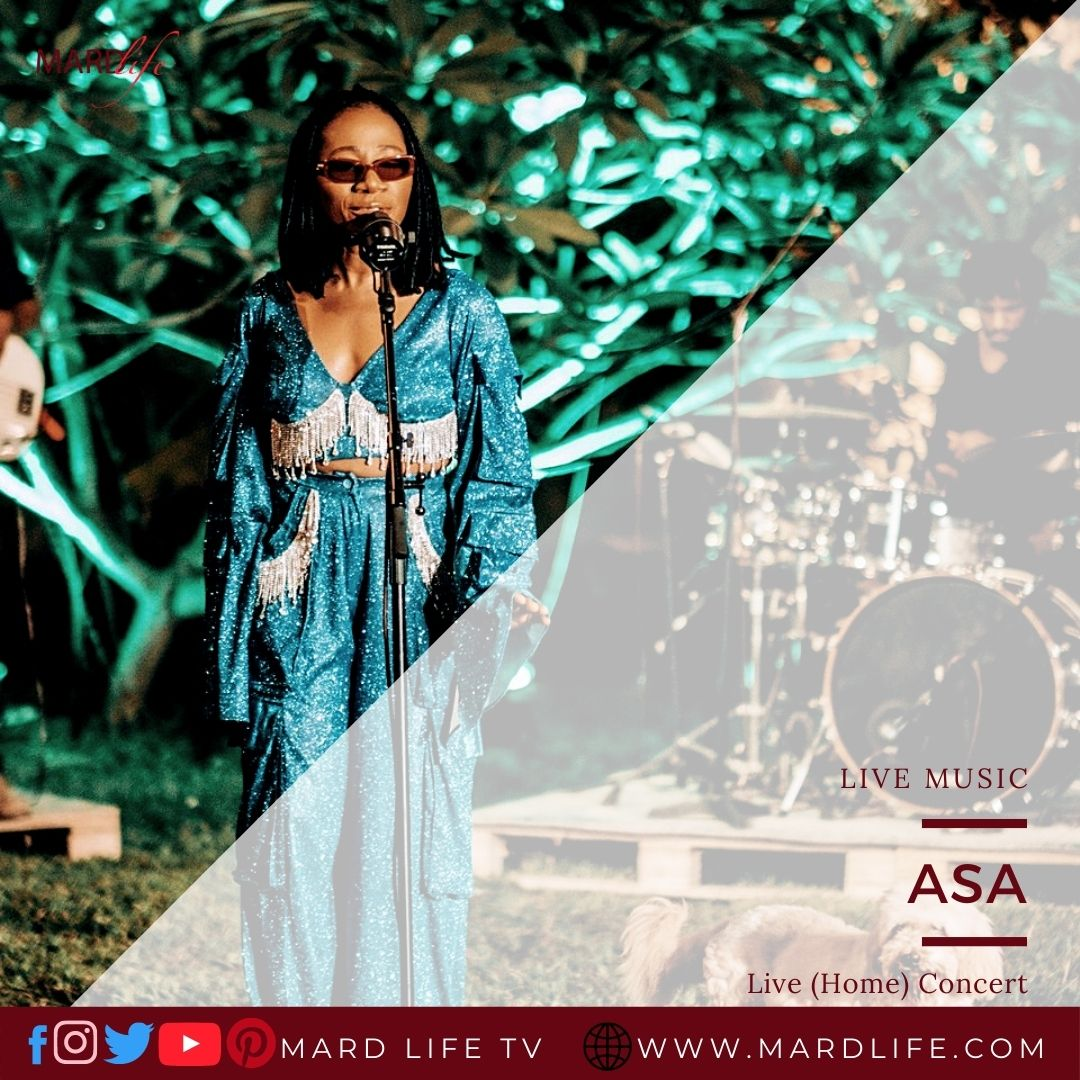 Asa, Janet Nwose, Live In Concert, Asa Live, Home Concert, Jailer, Murder in the USA, Stay tonight, Nine lives, So beautiful, International Women Day,