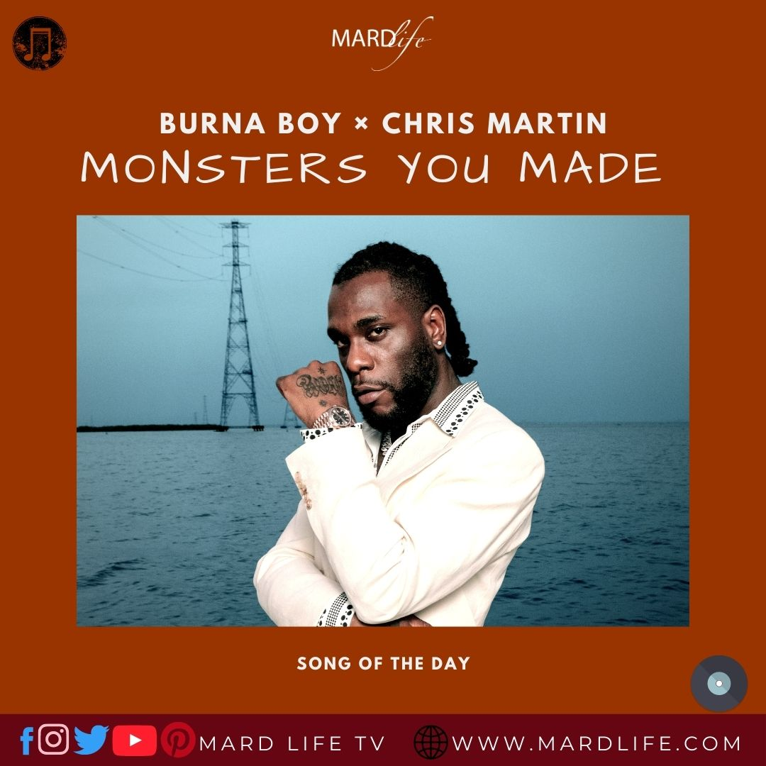 Song Review, Afro Beats, Twice As Tall, Monsters You Made, Nigerian Music, Grammy Winner, Burna Boy, Damini Ogulu, Music Review, Cold Play, Chris Martin,