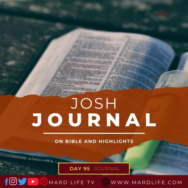 On Bible And Highlights – Josh Journal