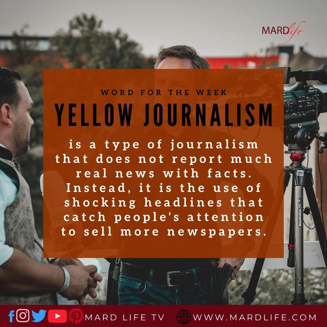 Yellow Journalism, Journalism, Journalist, Press, Nigerian Media, Nigerian Journalists, Media House, Nigerian Politics, Nigerian Government, Shock Value,