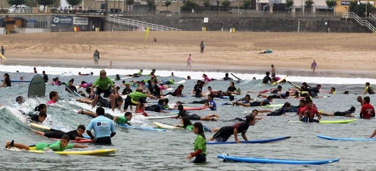masificacion playas surf
