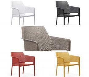 fauteuil relax interieur exterieur net polypropylene