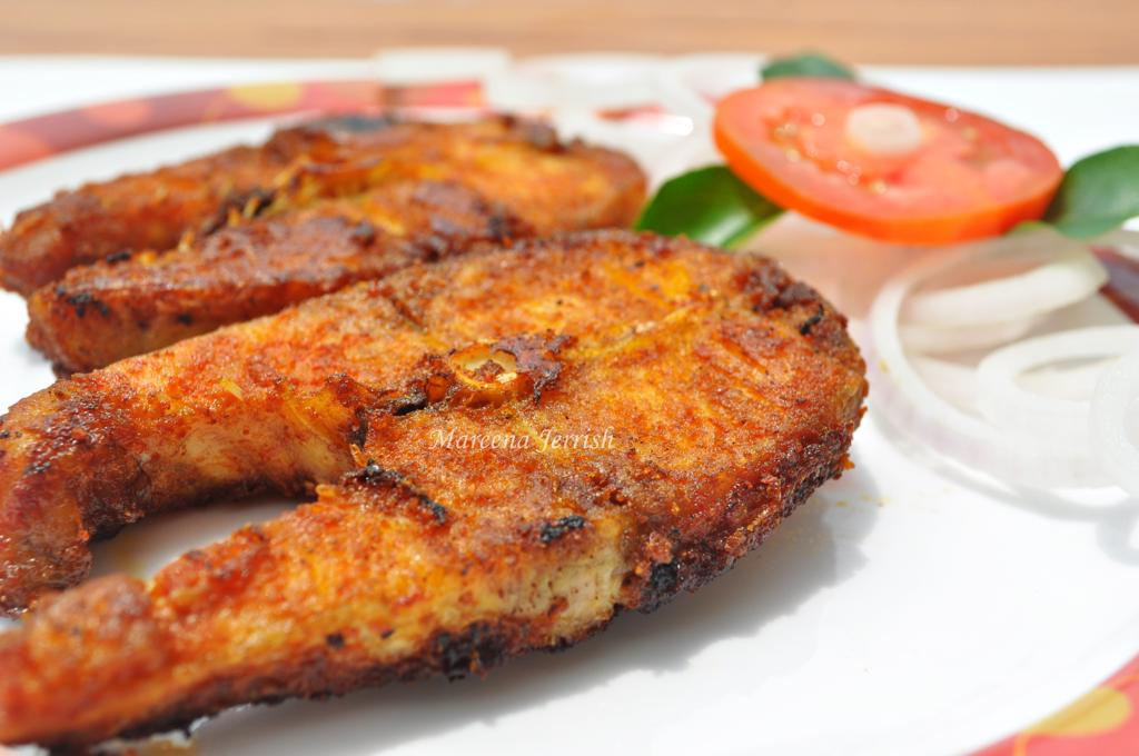 Simple fried fish kerala style recipe mareena 39 s recipe for Best fish for frying