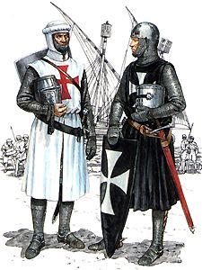 A Templar and a Hospitaller
