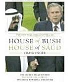 غلاف كتاب بيت بوش بيت سعود للكاتب الأمريكي كريگ أنگر.