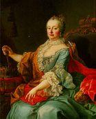 ماريا تريسا من النمسا; پورتريه بريشة مارتن ڤان ميتنز (1695-1770)